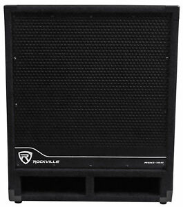 Rockville-RBG15S-15-034-1600w-Active-Powered-PA-Subwoofer-w-DSP-Limiter-Pro-DJ