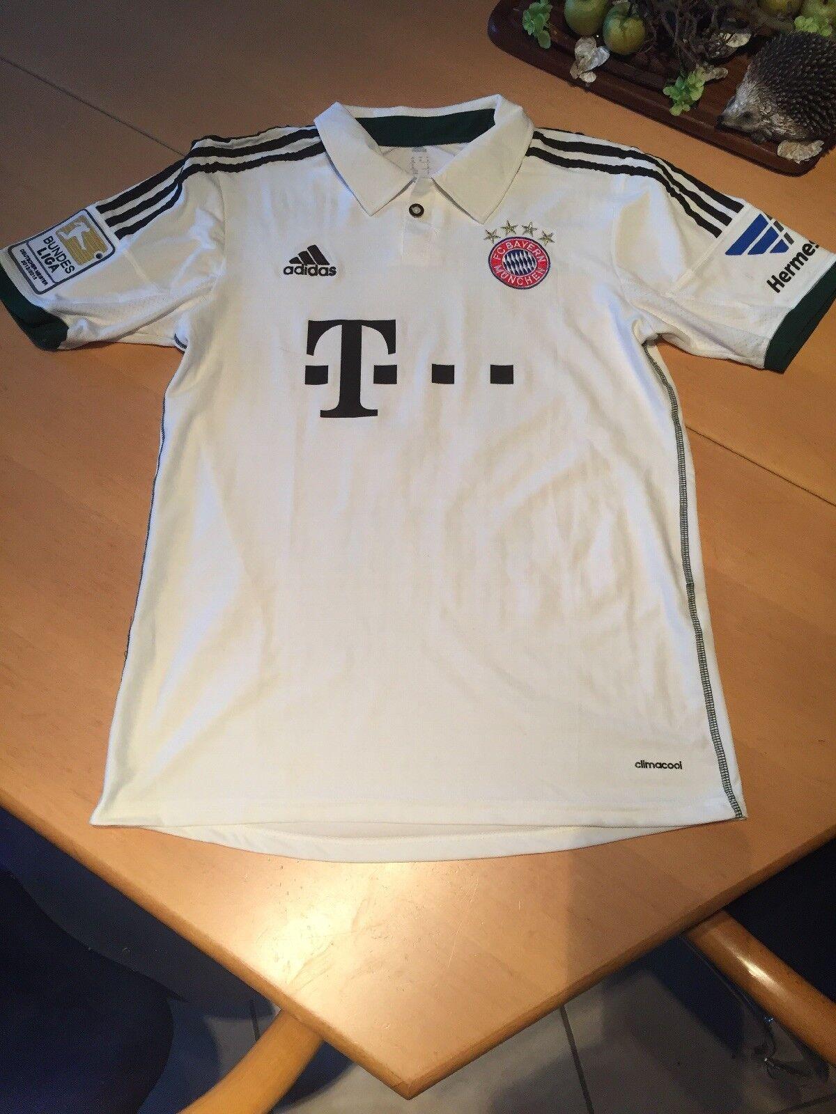 FC Bayern Munich Jersey  19 Idol 'Größe M with Patches  ORIGINAL
