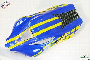 ABSIMA-AB2-8BL-Blu-Giallo-Corpo-Shell-Nuovo-di-Zecca