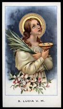 santino-holy card EGIM n.25 S.LUCIA V.M.