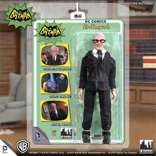 DC Retro Mego Kresge Style Batman TV Series Alfred Pennyworth Action Figure