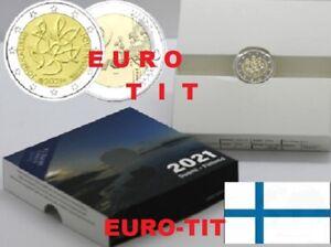 FINLANDE  2  EURO  COMMEMORATIVE JOURNALISME    BE     /  2021     disponible