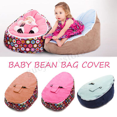 Incredible Baby Bean Bag Bed Infant Toddler Chair Seat Bouncer Beanbag Without Filling Ebay Gmtry Best Dining Table And Chair Ideas Images Gmtryco