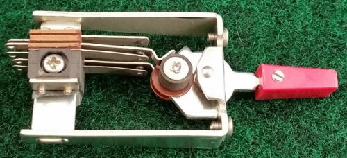 On-Off New Old Stock Vintage Eagle DPDT Leaf Style Toggle Switch