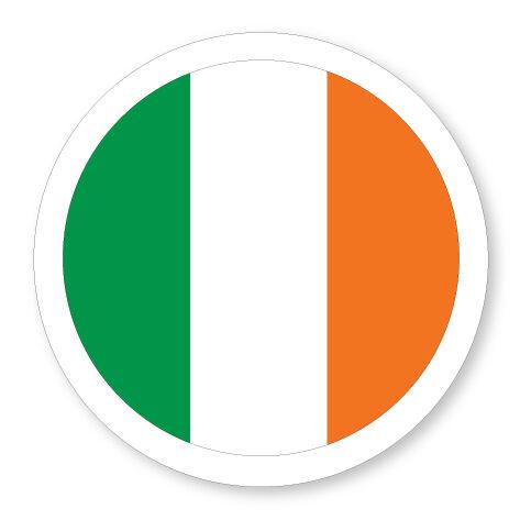 VAN VEHICLE TAX DISC HOLDER IRISH//EIRE//IRELAND FLAG STATIC CLING CAR