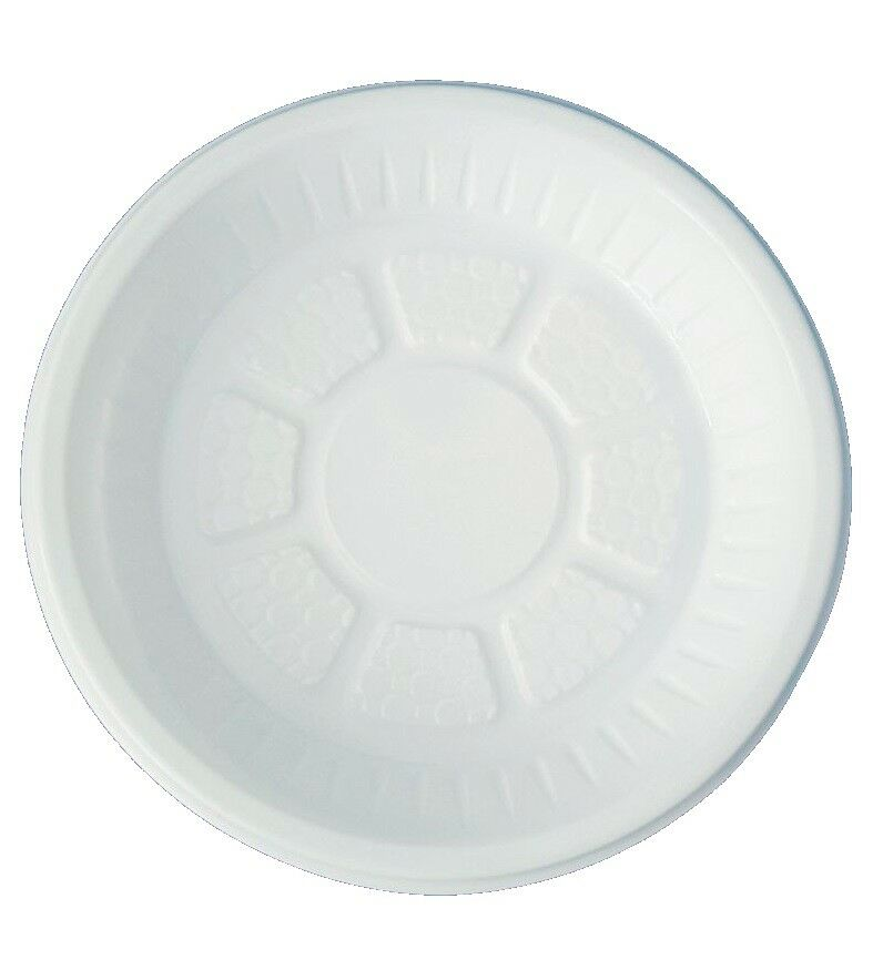 Blanc Plaques de plastique jetables Party 7/9/10 Tableware BBQ Catering 7/9/10 Party in (environ 25.40 cm) HP fcbceb
