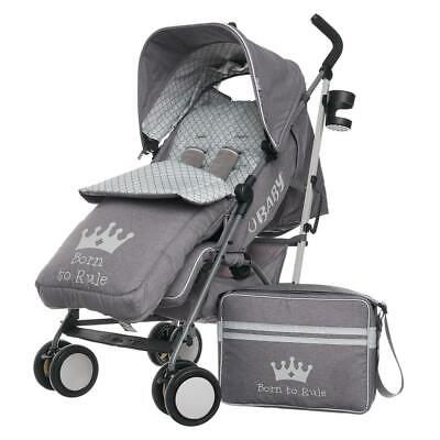 Born To Rule Obaby Zeal Stroller Bundle 2018 Suitable From Birth RRP £219.99