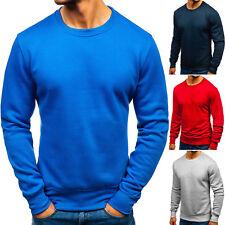 Herren Sweatshirt Pullover Langarmshirt Pulli Rundhals Klassische BOLF 1A1 Motiv