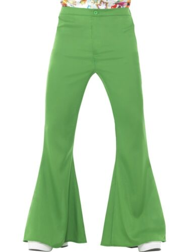 60/'s Flared Trousers Flares 70/'s Hippy Disco Adult Mens Fancy Dress Costume