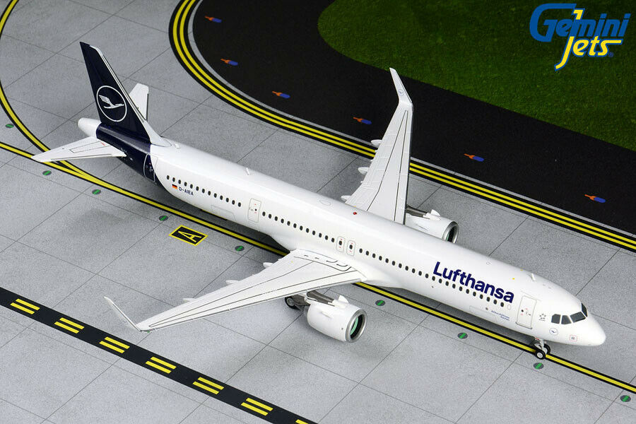 GEMINI GEMINI JETS LUFTHANSA AIRBUS A321NEO NEW LIVERY 1 200 G2DLH742 IN STOCK