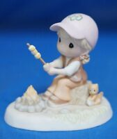 Girl Scout Brownies Warm The Heart Marshmallows Precious Moments Figure 102010