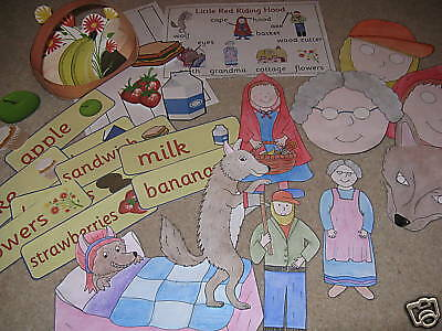 Little Red Riding Hood Teacher Resources On Cd Story Sack Eyfs