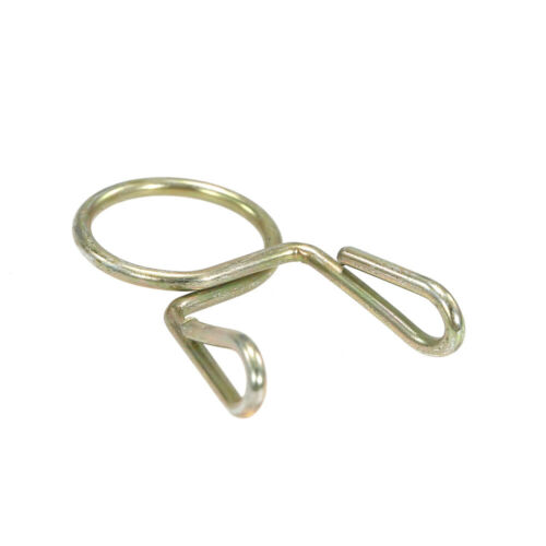 20X Fuel Line Hose Tubing Spring Clip Clamp 7mm For Motorcycle ATV Scooter X8G0