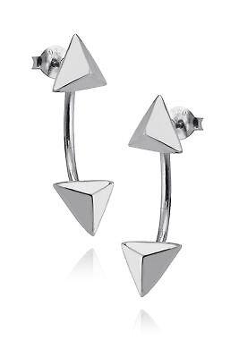 Posts Stud Gift NEW CZ Wave Ear Jacket Wrap Earrings 925 Sterling Silver