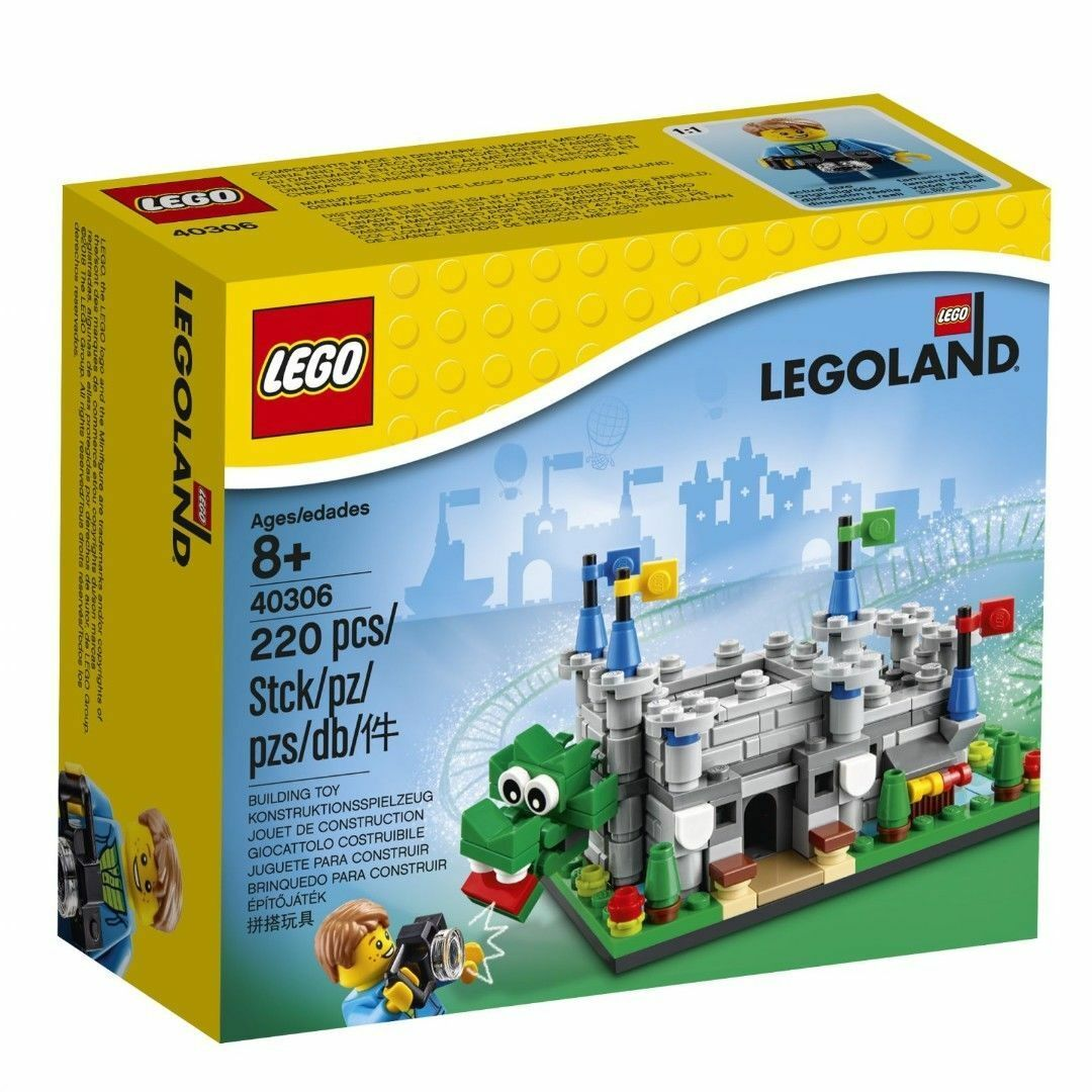 LEGO 40306 LEGOLAND MICRO CASTLE DRAGON BRAND NEW SEALED SET