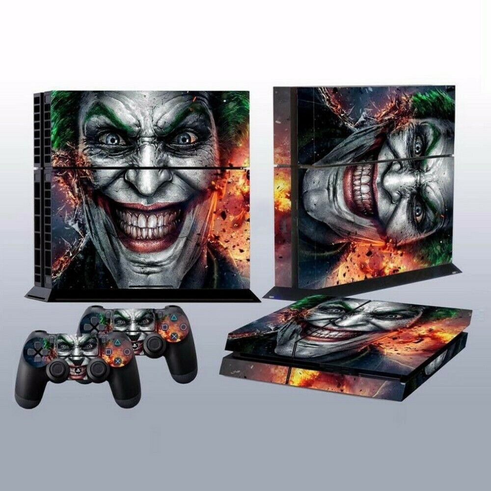 Joker Vinyl Decal Skin Sticker Cover for PlayStation 2 PS4 Controller Skins