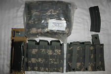 US Army Military Issue 30 Rd Magazine Pouch in ACU Camoflauge MOLLE Gear 1