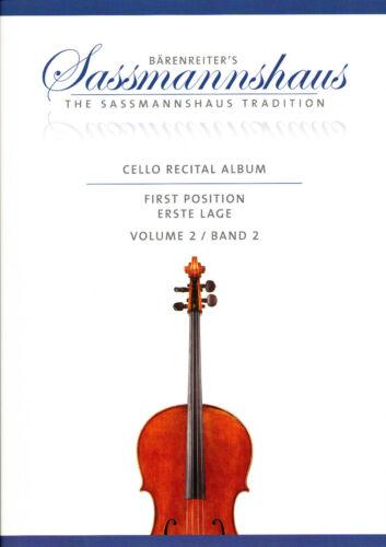 Christoph Sassmannshaus Cello Recital Album  Band 2