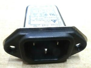 Mains IEC Inlet EMI Filter 6A 06GEEG3E-R Delta Electronics