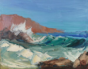 Pacific-Ocean-Two-Original-Expression-Seascape-Oil-Painting-8x10-091218-KEN