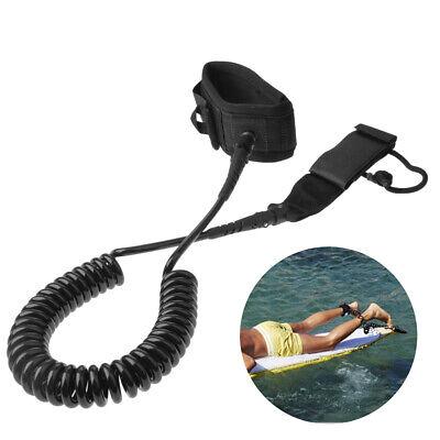 3 Meter//10 FeetCoiledLeash Stand Up Paddle Board Surfboard Leash Leg Rope //Neu