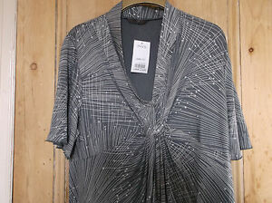 NEW-With-tags-Evans-stunning-shooting-stars-tunic-size-22