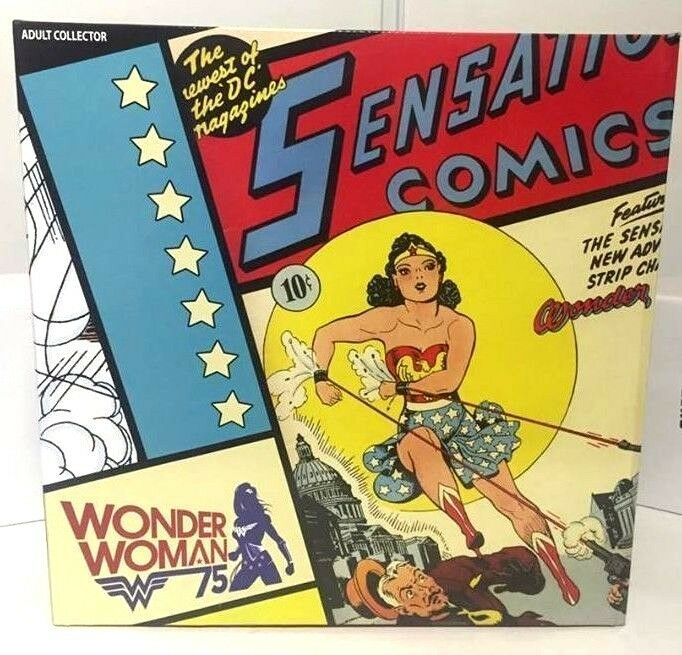 SDCC 2016 Exclusive DC Comics Multiverse Wonder Woman Figure + Invisible Jet New
