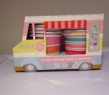 Ice Cream Van Cups Spoons Cake Cupcake Dessert Candy Birthday Party Meri Meri