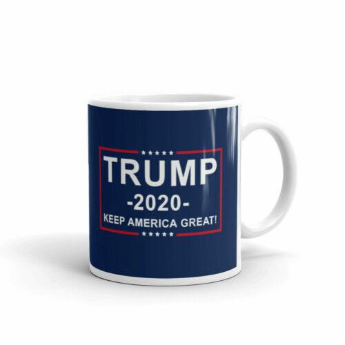 Trump 2020 Keep America Great Office Work Cup Gift Coffee Tea Ceramic Mug 11oz