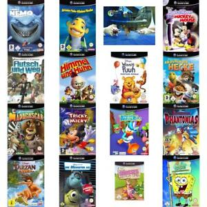 Nintendo-GameCube-Best-of-Disney-amp-Dreamworks-Spiele-Zustand-auswahlbar
