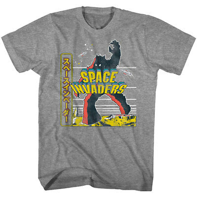 New Space Invaders Men/'s City Classic Video Game Vintage T-Shirt