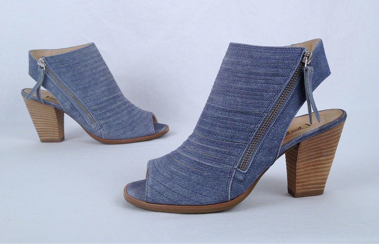 NEW   Paul Green 'Cayanne' Sandal- Denim Suede- Size 6.5 US  4 UK   398  (B5)