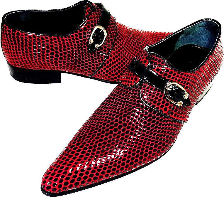 Original Chelsy - Italienischer Italienischer Italienischer Designer Party Slipper Netzmuster black red 2f7a79
