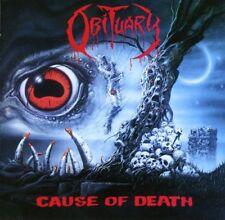 Cause of Death [Bonus Tracks] [Remaster] by Obituary (CD, Oct-1998, Roadrunner Records)