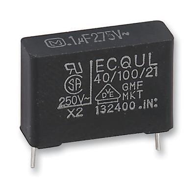 lot de 2 Panasonic ECQUL 0.1uF 275Vac Classe X2 Polyester Film Capacitor