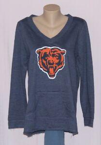 watch 824b9 8f1ff Details about Chicago Bears Womens Team Logo Sweatshirt - NFL