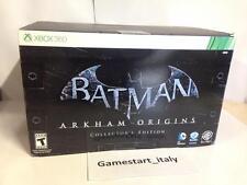 BATMAN ARKHAM ORIGINS COLLECTOR'S EDITION - XBOX 360 - NUOVO NEW