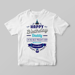 Image Is Loading Happy Birthday Daddy Mum Says You 039 Re