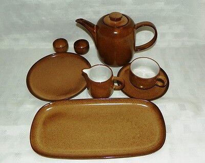 Melitta Heidelberg Ceracron beige braun Kaffeetasse /& Untertasse