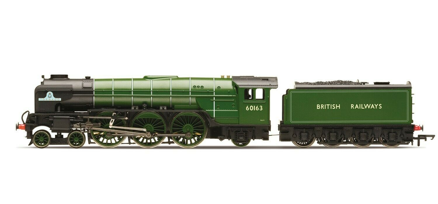 Hornby R3061-HX County class 4-4-0 steam locomotive 3821 County of Bedford Bnib