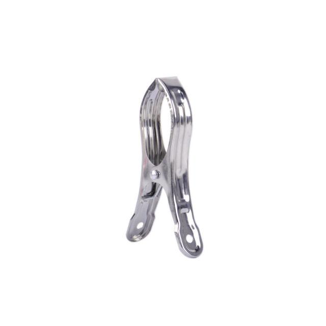 20x Edelstahl Metall Wäscheklammer  Haushaltsprodukte Wäscheklammern Clips