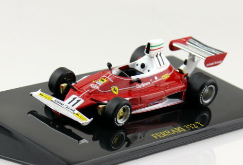 FERRARI 312t #11 Clay Regazzoni 1:43 Ixo//Altaya modello di auto