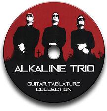 ALCALINA TRIO PUNK ROCK CHITARRA INTAVOLATURE CANTO BOOK CD SOFTWARE