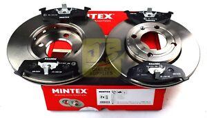 Mintex-Discos-De-Freno-Set-Eje-Delantero-Almohadillas-Para-SEAT-VW-MDK0100-imagen-real-de-parte