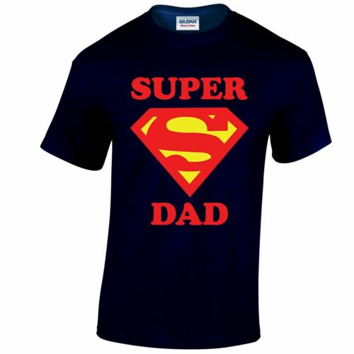 Super Dad Father DAY/'S Mens Ladies T Shirt Top Funny Inspired Xmas GIFT