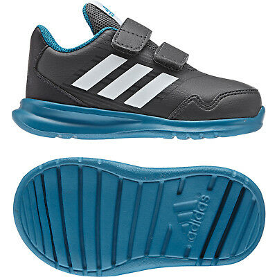ADIDAS Eco Ortholite Boys Athletic Shoes sz 1. Bright blue
