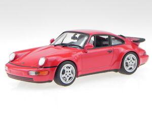 Porsche-911-964-Turbo-1990-red-diecast-modelcar-940069102-Maxichamps-1-43