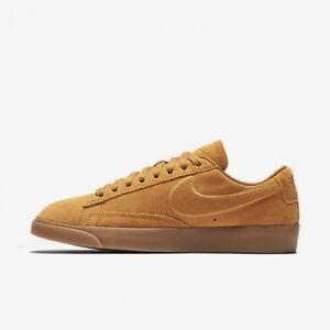 huge sale 5bd67 dfb84 Image is loading Womens-Nike-Blazer-Low-SD-Tan-Gold-Dart-