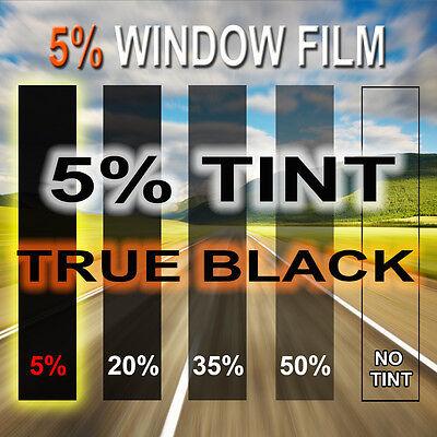 "Window Tint Film Professional 5% VLT 20"" x 10 feet Roll Car Home Office Tinting"