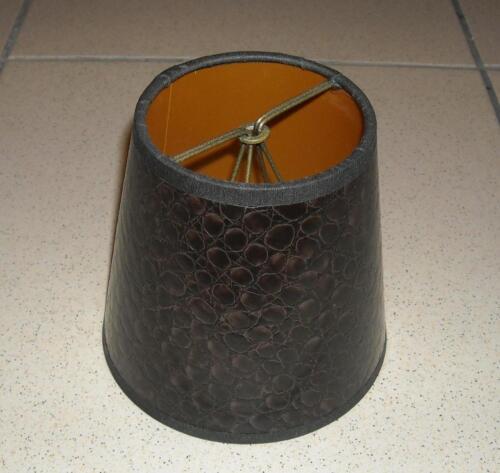 12 cm Lampenschirm Stoff Stoffschirm Ersatz Ø ca A454